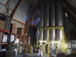 Die neuen Mehlsilos wurden im Herbst 2014 in Betrieb genommen.